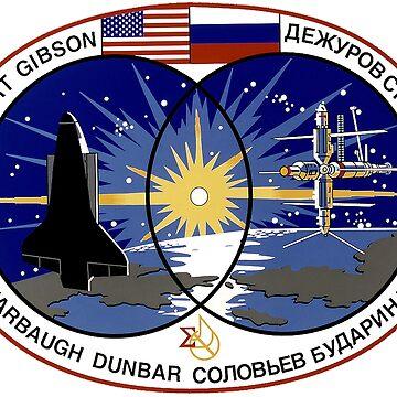 STS-71 Mission Crest by Quatrosales