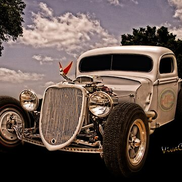 36 Ford Rat Rod Pickup Is It Art Or Is It Only Mechanical Contrivance by ChasSinklier