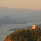 Vista House   Columbia River Gorge by Ran Richards