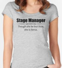 Stage Manager and Assistant Stage Managers Gifts Women's Fitted Scoop T-Shirt