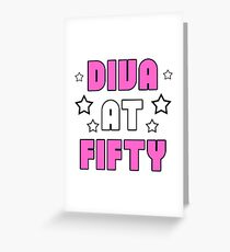Women's 50th Birthday Greeting Card