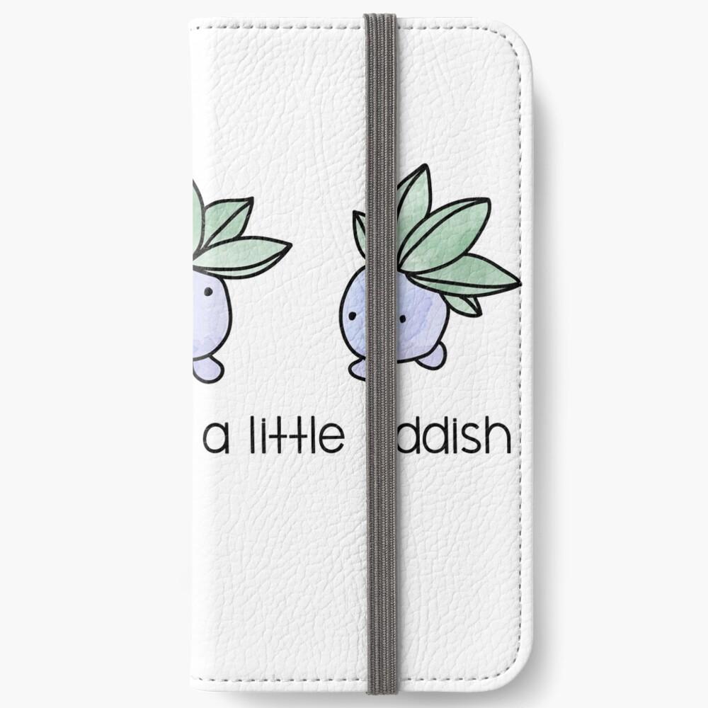Ein kleiner Oddish iPhone Flip-Case