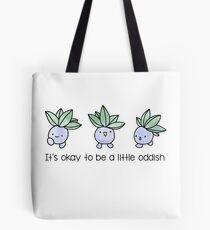 A Little Oddish Tote Bag
