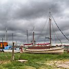 Old sailing boat by PeteS