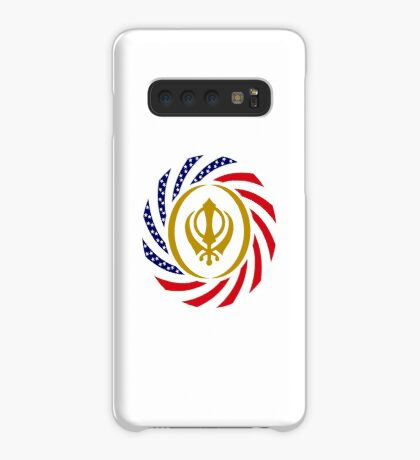 Sikh American Patriot Flag Series Case/Skin for Samsung Galaxy