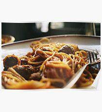 Spaghetti Flow Poster