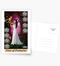 NINE OF PENTACLES Postcards