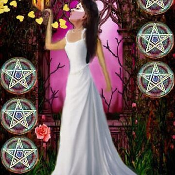 NINE OF PENTACLES by AlisonWilkie