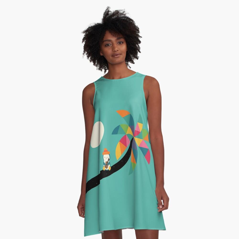 Amazing Vocation A-Line Dress Front
