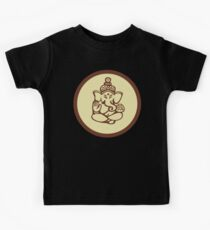 Hindu, Hinduism, Ganesh T-Shirt Kids Tee