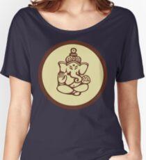 Hindu, Hinduism, Ganesh T-Shirt Women's Relaxed Fit T-Shirt