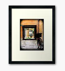 Passageway Framed Print
