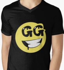 EMOTICON Men's V-Neck T-Shirt