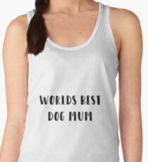 Worlds best dog mum Women's Tank Top