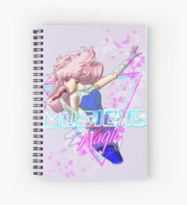 Music Is Magic Spiral Notebook