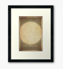 Discipline Priest - WoW minimalism Framed Print