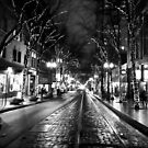 December Evening in Portland by justminting