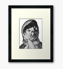 Maria Szymanowska - Brilliant Composer and Pianist Framed Print