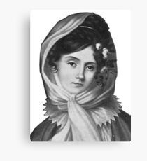 Maria Szymanowska - Brilliant Composer and Pianist Canvas Print