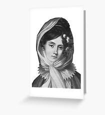 Maria Szymanowska - Brilliant Composer and Pianist Greeting Card