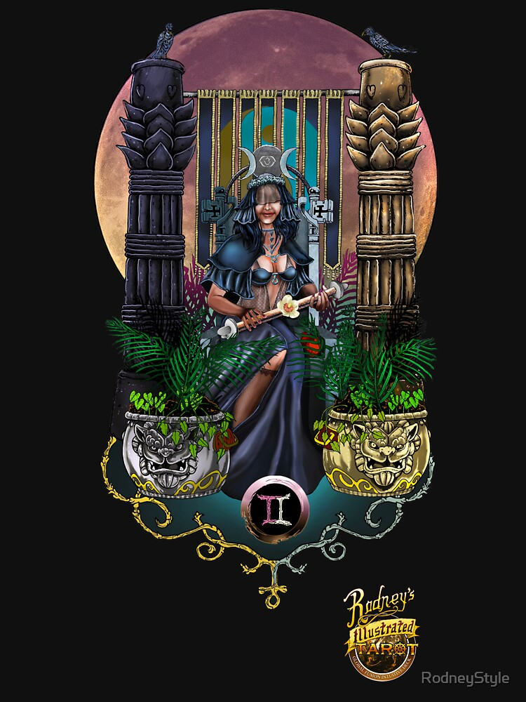 The High Priestess by RodneyStyle