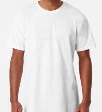 Paw Print Long T-Shirt