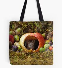 wild house mouse  in a apple Tote Bag