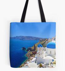 Santorini island, Greece Tote Bag