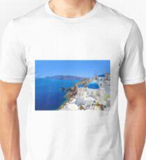Santorini island, Greece Unisex T-Shirt