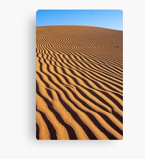 Orange sands. Canvas Print