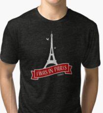 Paris I Was In Paris (I Love Paris) Vintage T-Shirt