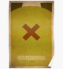 Attentat Rogue - WoW Minimalismus Poster