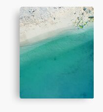 Beautiful Summer Beach  Canvas Print
