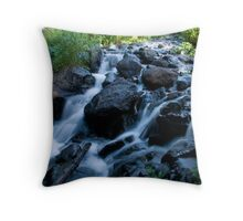 Dream Lake Falls Throw Pillow