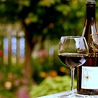 Tasting in the Garden by Robin Webster