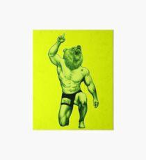 California bear - jiu jitsu , grappling nation Art Board