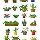 Pixel Plants by jandaba777