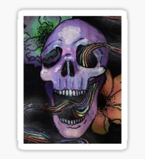 Pride Skull Sticker