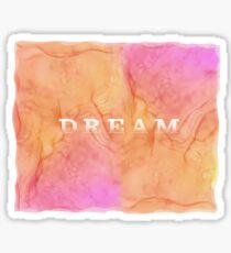Dream Alcohol Ink Design Sticker