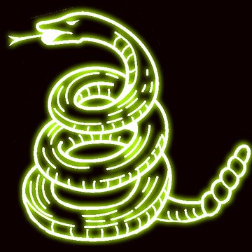 Neon Snake by Conanhungry