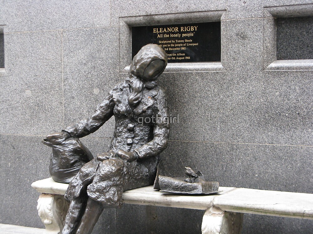 Eleanor Rigby in Liverpool by gothgirl