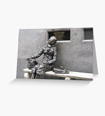 Eleanor Rigby in Liverpool Greeting Card