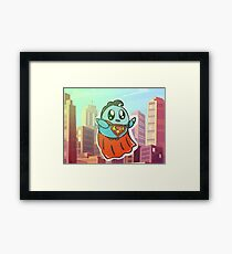 The most super birb Framed Print