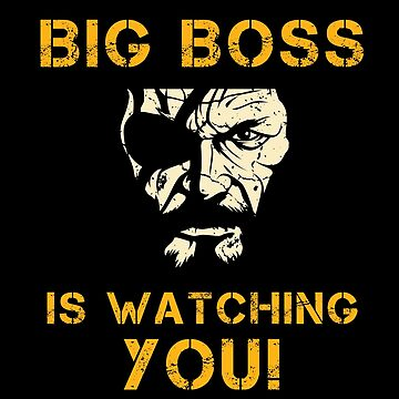 Big Boss is Watching YOU Metal Gear Solid V by AlexanderGorham
