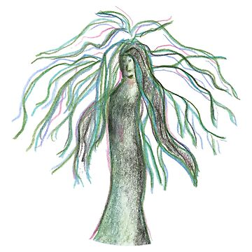 Tree Woman - A Female Ent by JoannieKayaks