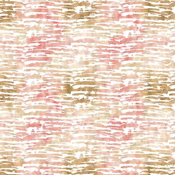 Bronze Pink White Stripes by pencreations
