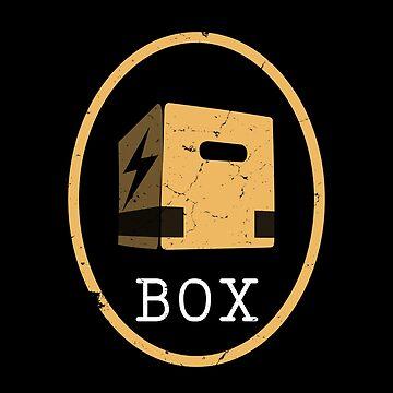 Metal Gear Solid Cardboard Box by AlexanderGorham