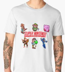 Super Nintendo Men's Premium T-Shirt