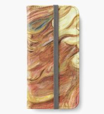 Happy Autumnal Watercolour Dragon iPhone Wallet/Case/Skin
