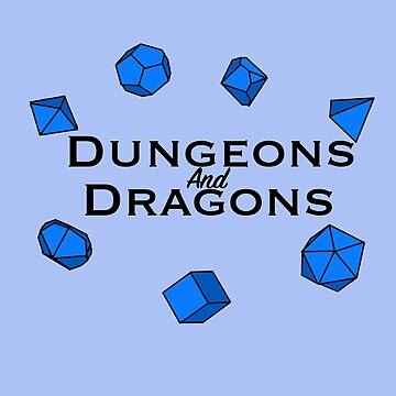 Dungeons and Dragons Polyhedral Dice Design by BPAH